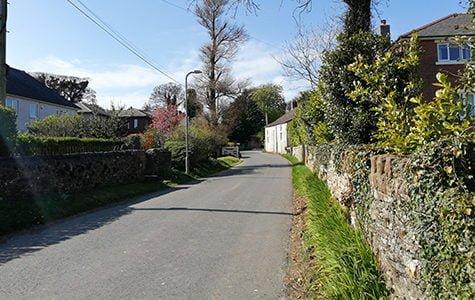 Road through Winscales